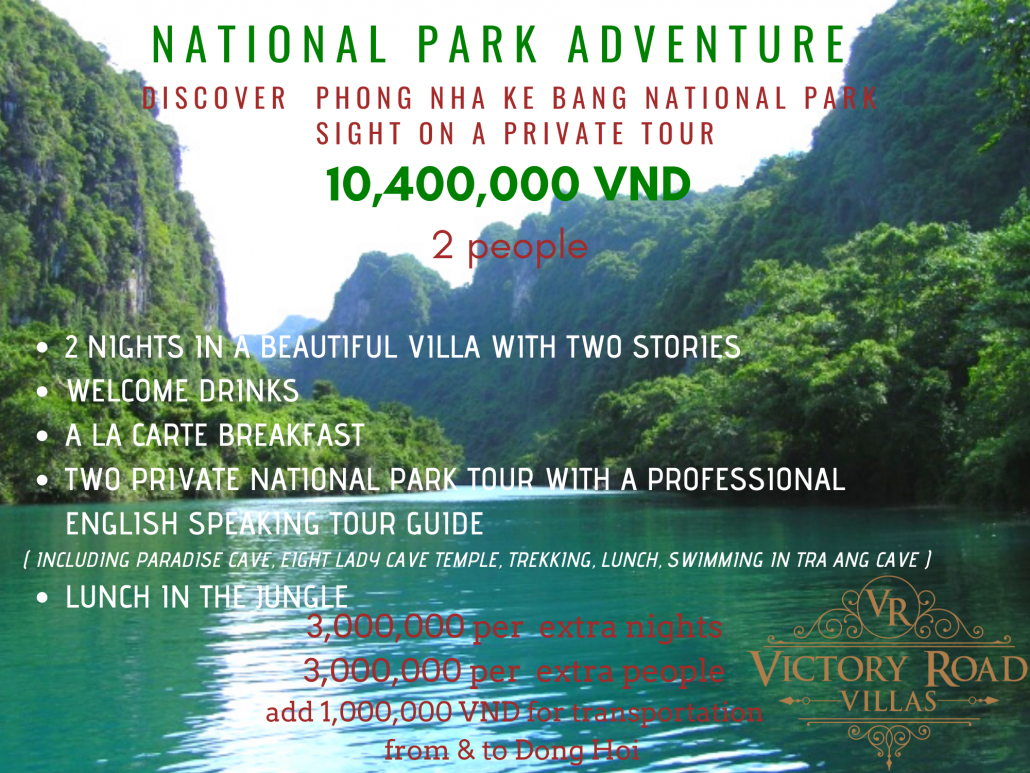 Victory Road Villas: National Park Adventure