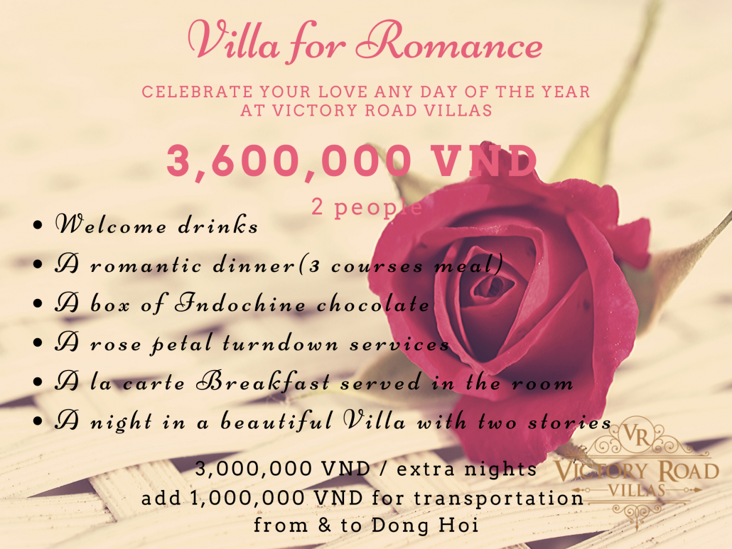 Victory Road Villas: Villa for Romance