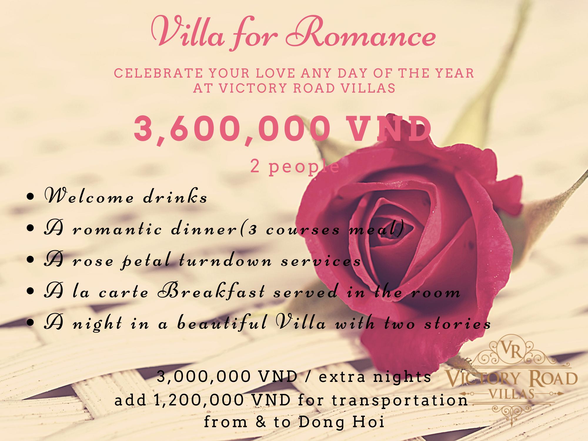 Victory Road Villas: Villa for Romance